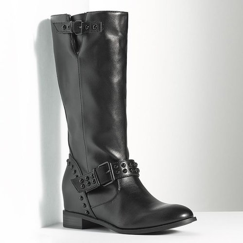 Simply vera vera wang midcalf moto boots - women