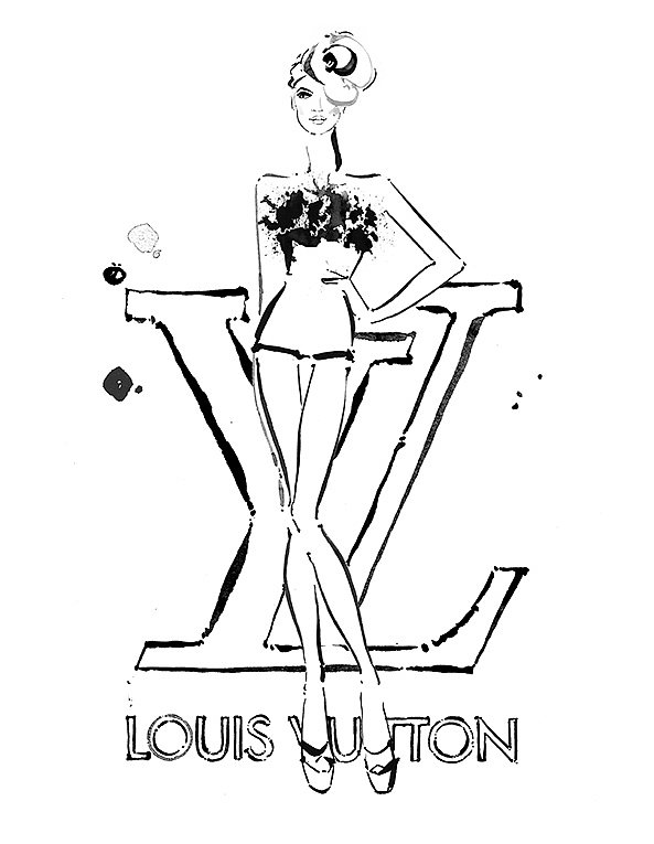 U0026quot;This Illustration Was Done In January 2013 For Louis Vuitton Paris | 11 Must-See Fashion ...