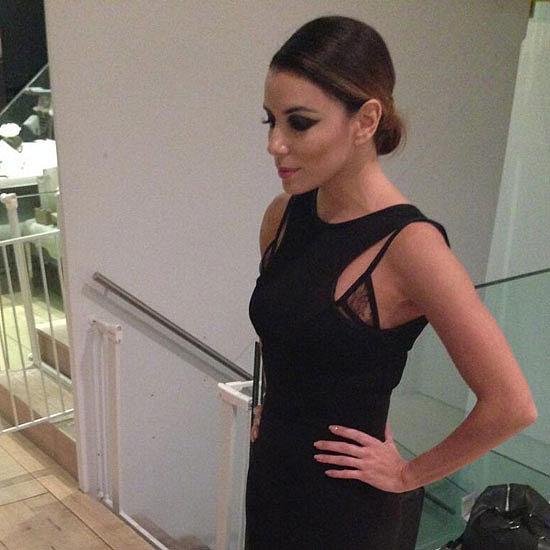 Eva Longoria's Dress, From Instagram to Red Carpet