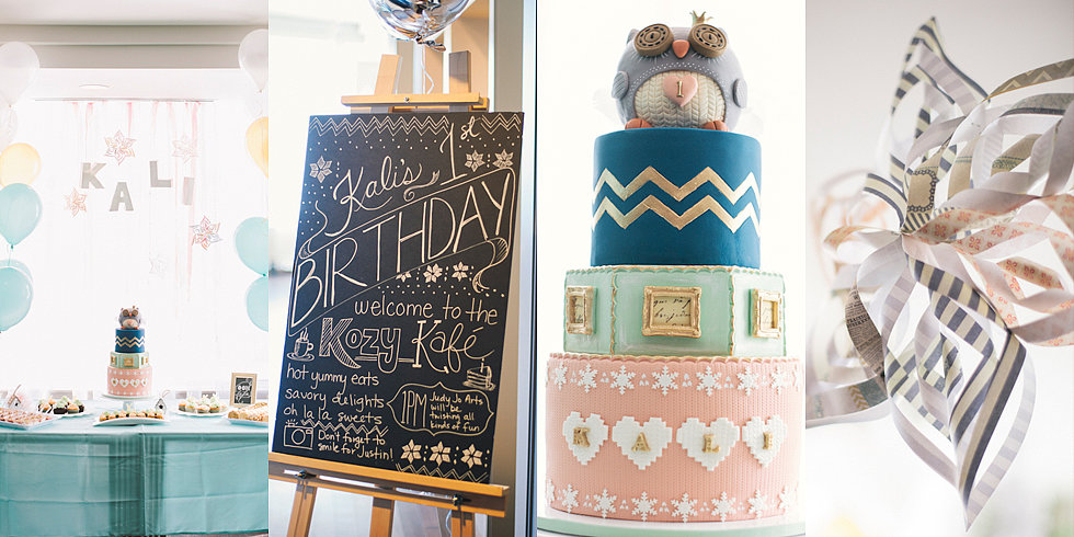 Owl-tastic! A Winter-Themed 1st Birthday Party