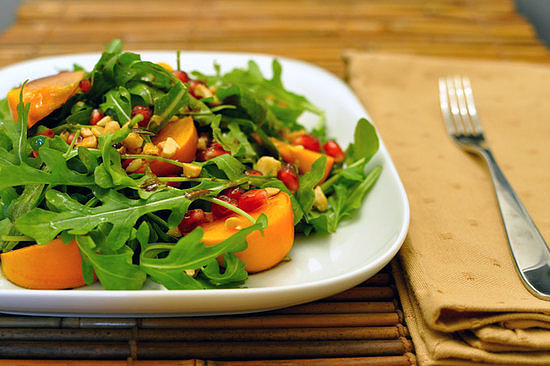 Persimmon and Arugula Salad