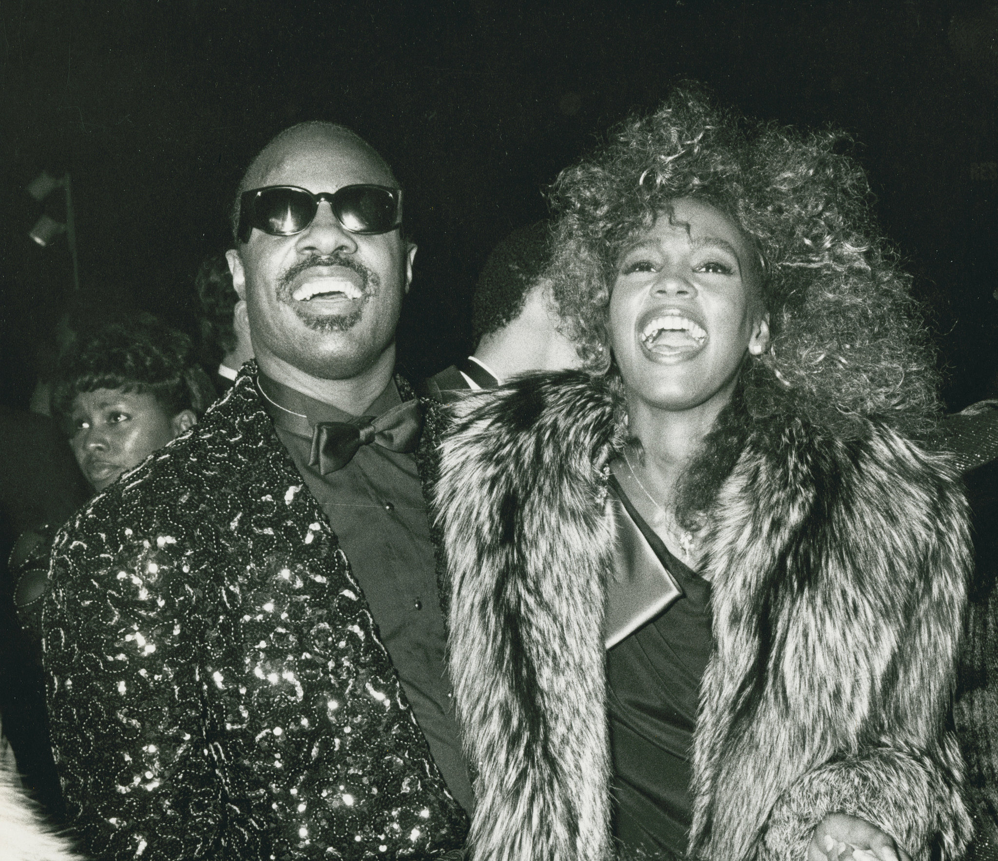 Stevie Wonder and Whitney