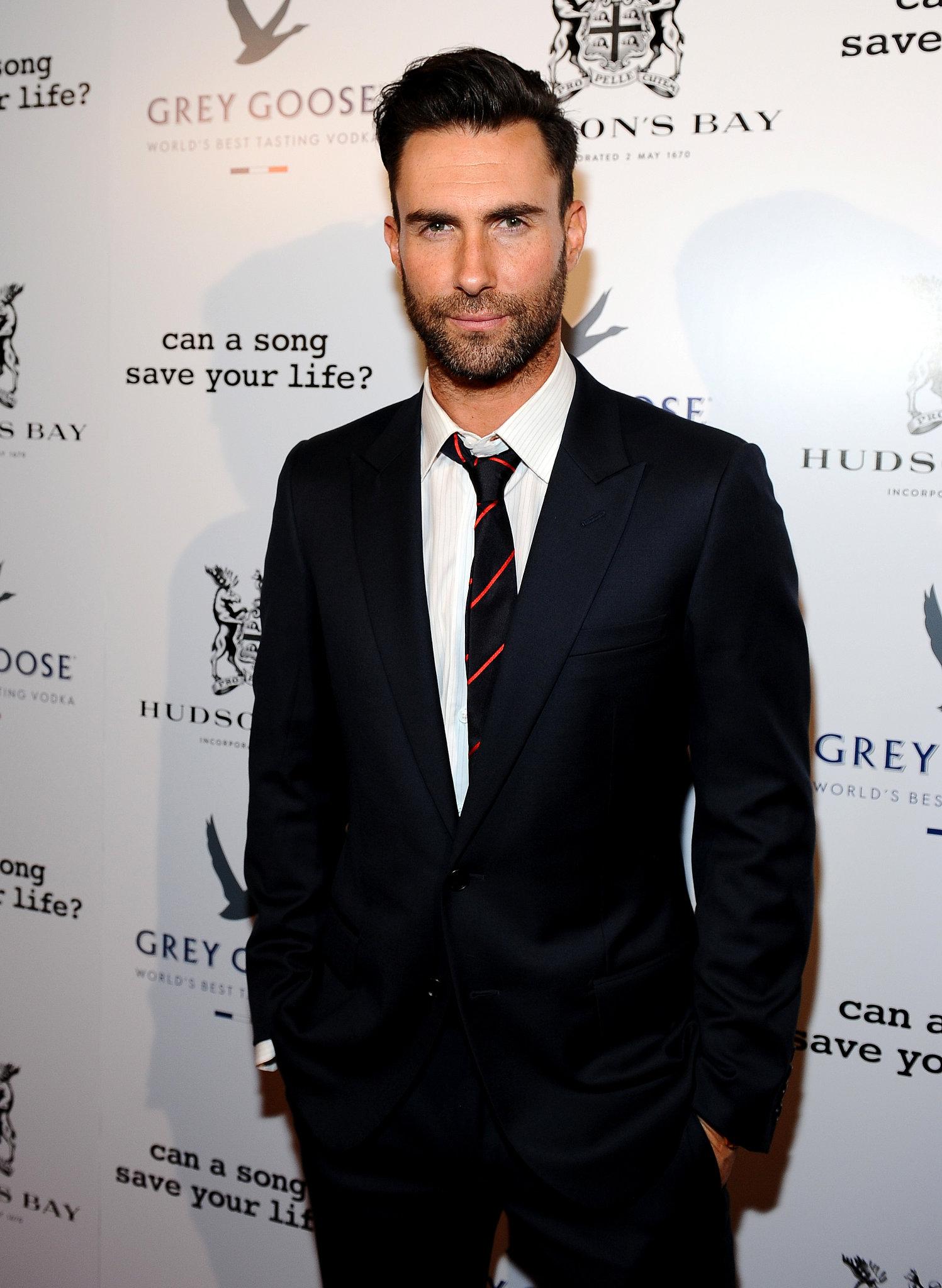Adam Levine is People magazine's Sexiest Man of 2013.