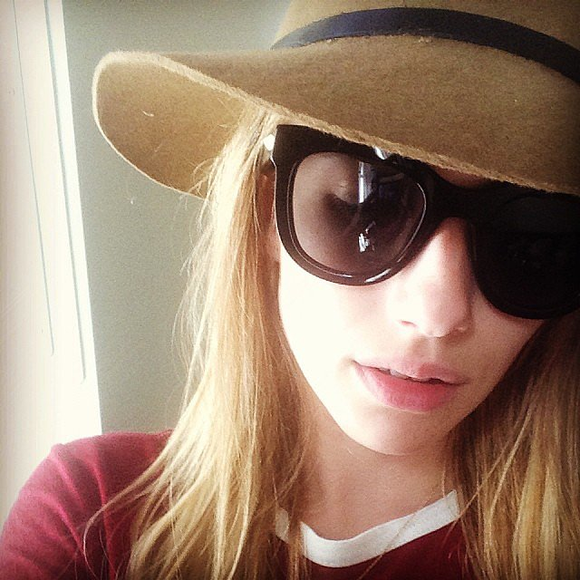 Emma Roberts stayed cute and covered up. Source: Instagram user emmaroberts6