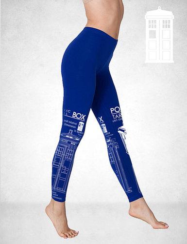 TARDIS Blueprint Fashion