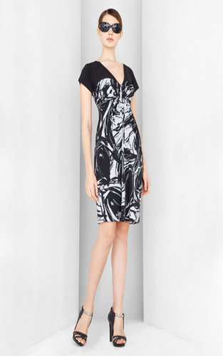 Cheap BCBG Casual V-Neck Knee-Length Dress Sale