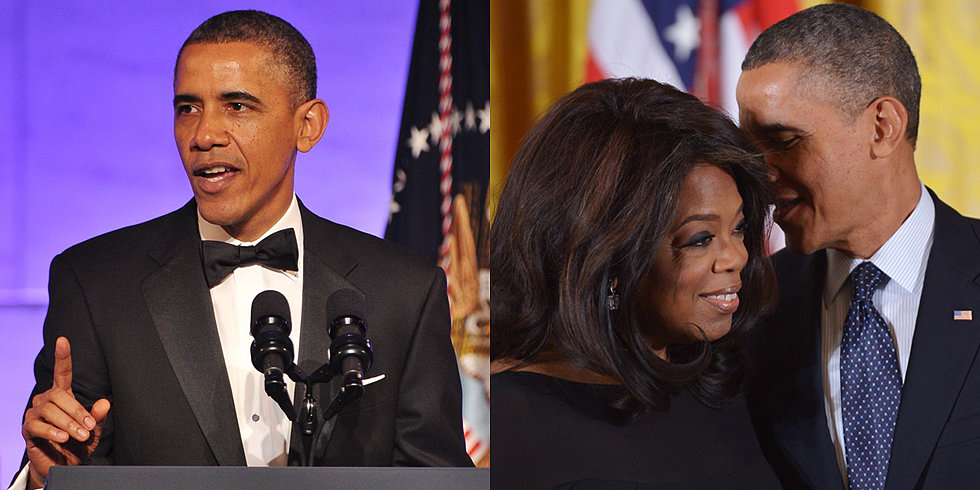 Obama Gets the Giggles While Honoring Icons