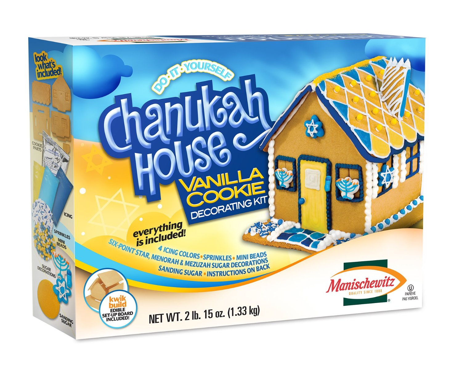 Decorated House Cookies Cookie Decorating Kit