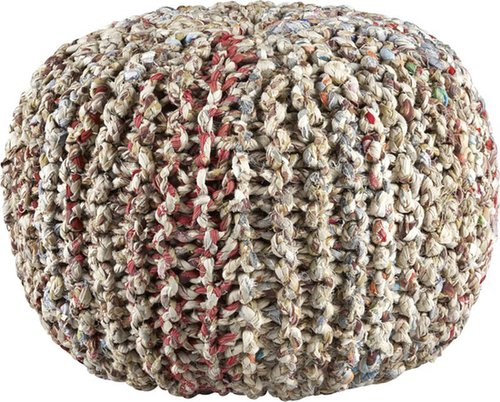 Home items can be tricky to give as gifts, but this pouf ($90) is functional and fun. You can use it as an ottoman, an extra seat, or just decoration, and the recycled fabric gives it an extra-unique look.  — Becky Kirsch, entertainment director
