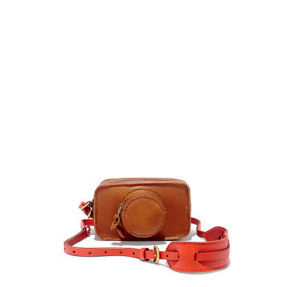 Shutterbugs will adore this adorable Camera Clutch ($98) from celebrity-favorite Madewell. The bag comes with a luscious tangerine strap that can be hung from your shoulder like a camera bag. — Maria Mercedes Lara, associate editor