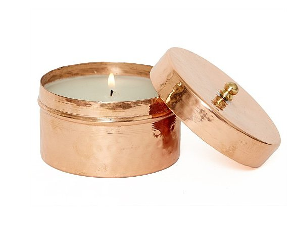 Finally, a candle that would fit in with any decor. Lauren Conrad's new company, The Little Market, brings us this Rose Gold Candle ($38) with a hand-hammered tin that was made by artisans in India. Help out tradespeople from across the globe and add some light to your holiday decorations. — Maria Mercedes Lara, associate editor