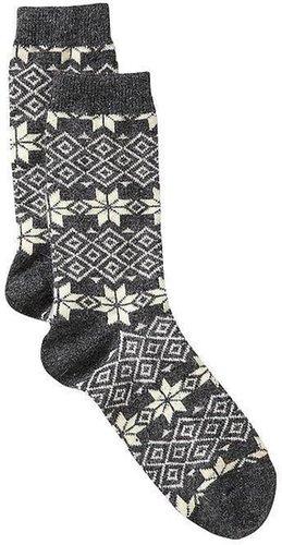 Cozy Fair Isle socks