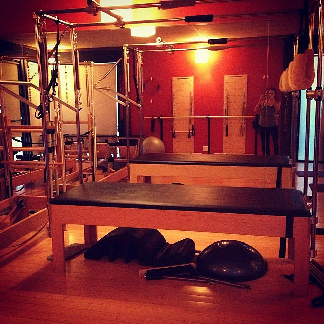Red Room: Renee Bargh In Her Pilates Red Room Of Pain.
