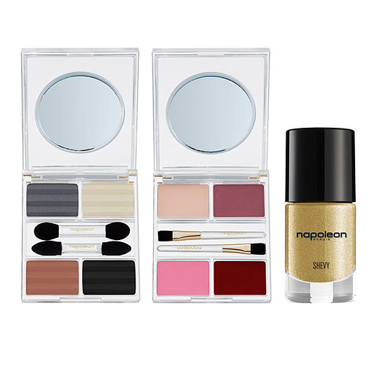 Who doesn't love some golden nail polish with their eye shadow palettes? With the Napoleon Perdis Imperial Collection ($59), she can have her shadow and nail polish, too!