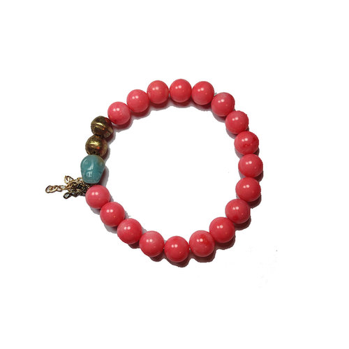 There's nothing better than receiving a personalized gift, and Ingot's handmade bracelets, like this coral-and-ocean-blue Amazonite ($75) version, can be custom-ordered with a variety of stones to choose from.  — Lauren Turner, celebrity and features editor