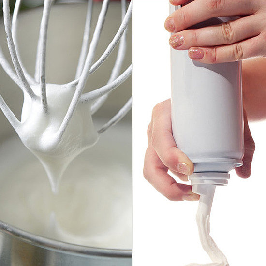 Did You Use Homemade Whipped Cream or Did You Dispense It From a Can?