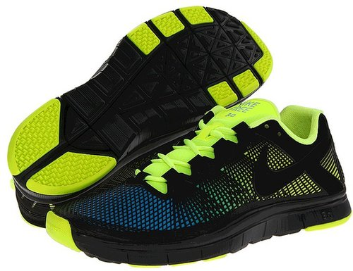 Nike - Free Trainer 3.0 NRG (Volt/Current Blue/Black) - Footwear