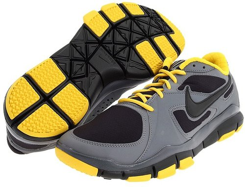 Nike - Free TR2 Winter (Cool Grey/Varsity Maize/Black) - Footwear