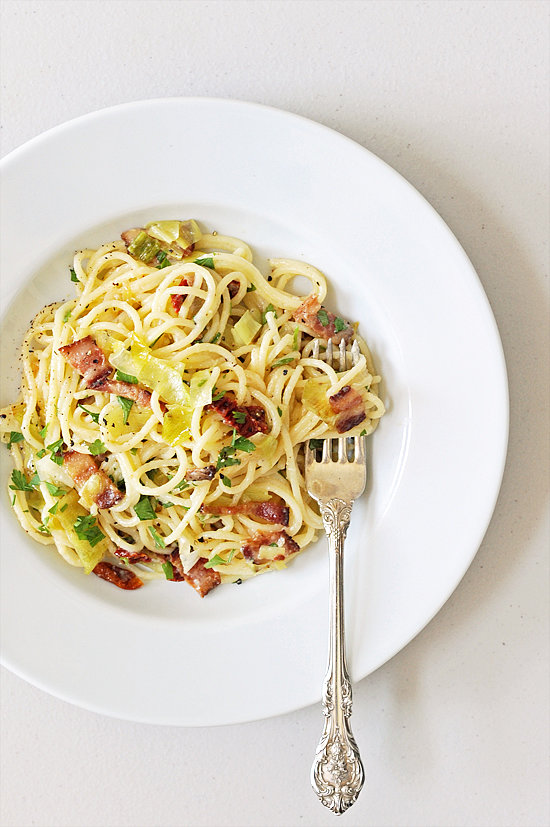 Easy: Pasta Carbonara With Sun-Dried Tomatoes