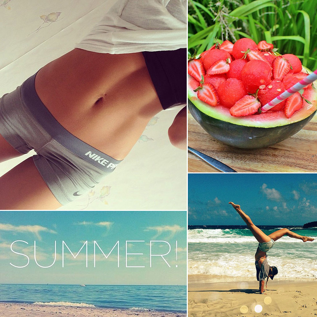 Quotes For Instagram Photos Summer: Summer Food, Motivational Quotes, Bar Refaeli Body