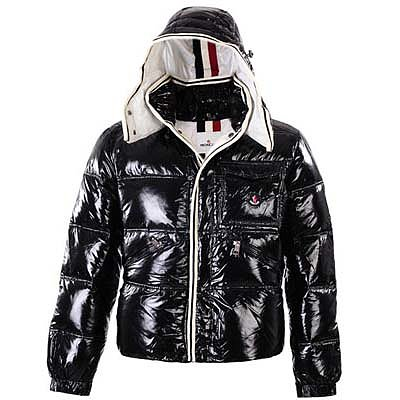 Moncler Mens Jackets Black 8889