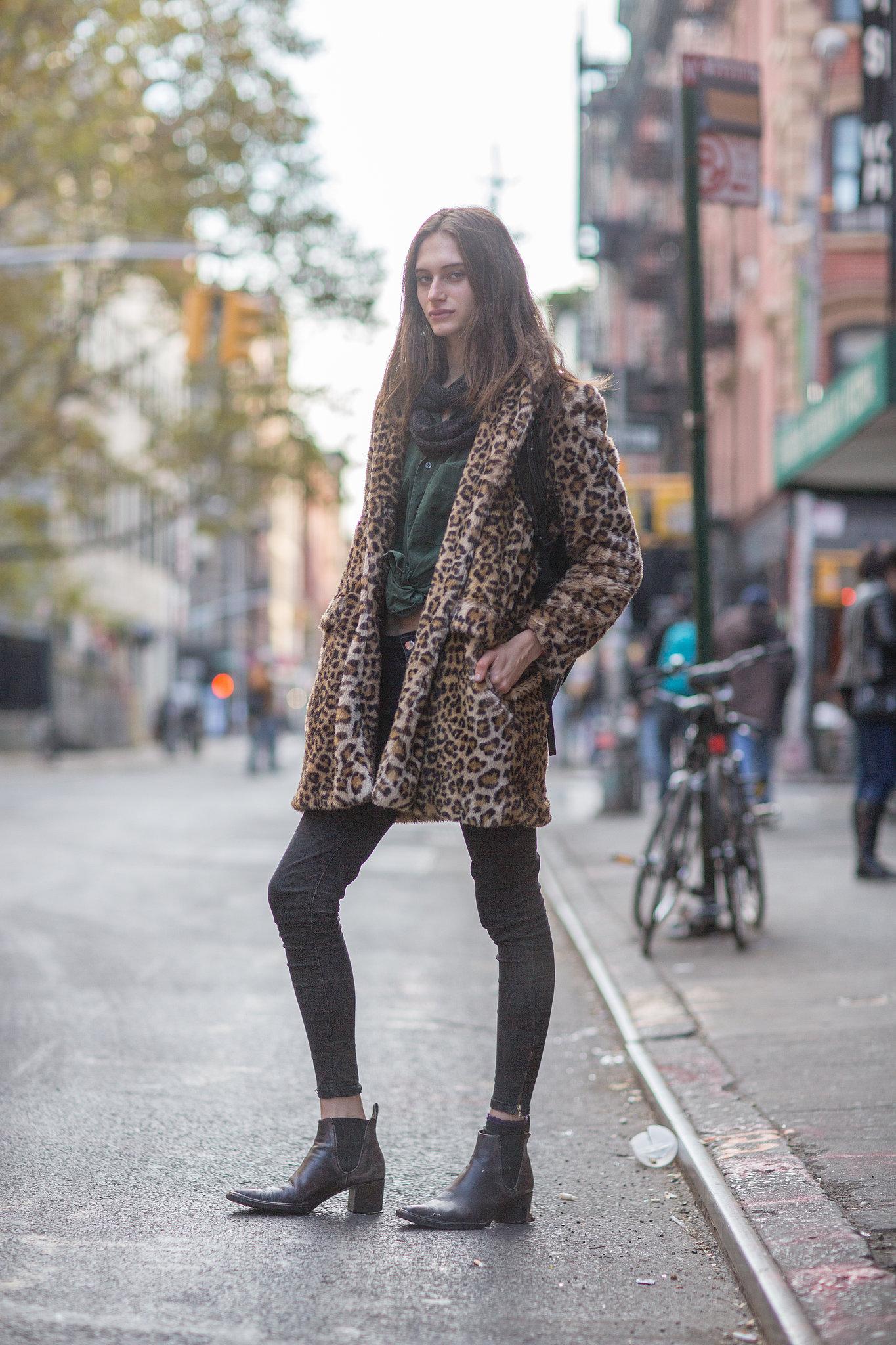 We never met a leopard coat we didn't like — how very Kate Moss, no? Source: Le 21ème | Adam Katz Sinding