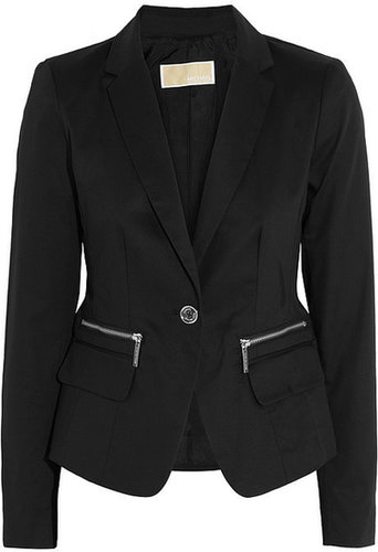 MICHAEL Michael Kors Stretch cotton-twill blazer