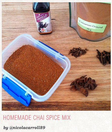 Homemade Chai Spice Mix from the Move Over Sugar eBook - FitBetty.com