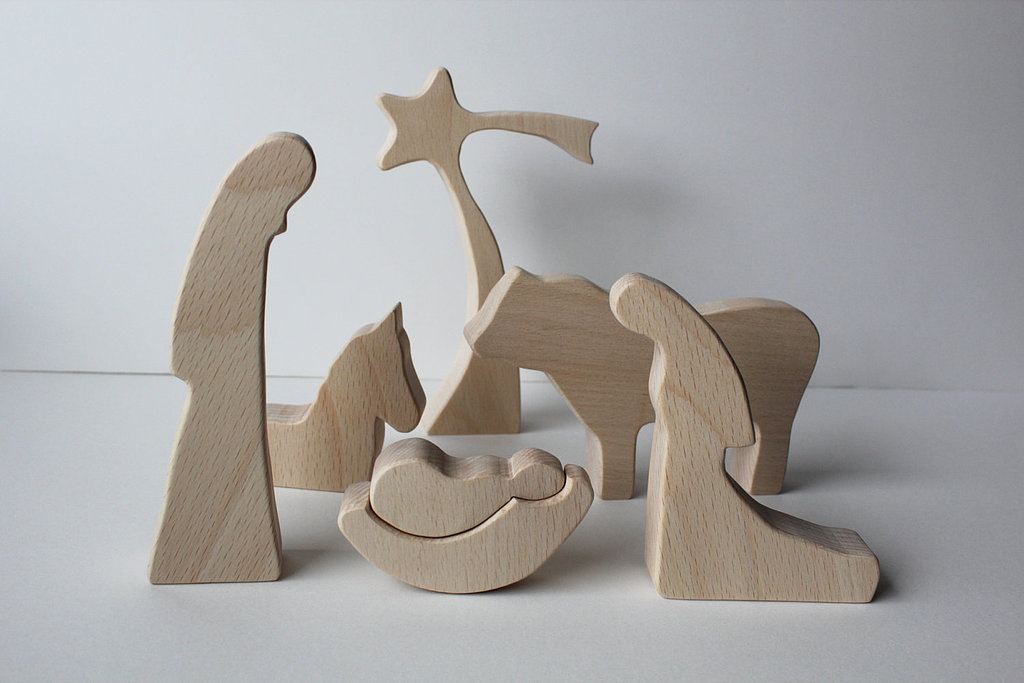 Natural Nativity Set