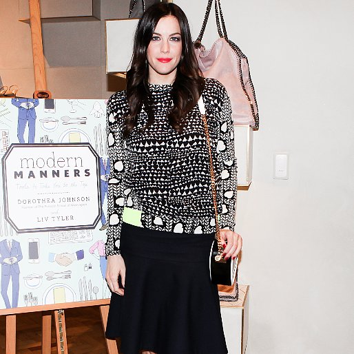 Liv Tyler at Modern Manners Book Party