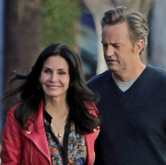 Courteney Cox and Matthew Perry Reunite on Cougar Town
