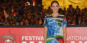 Marion Cotillard Plays With Prints – Is It Too Much?