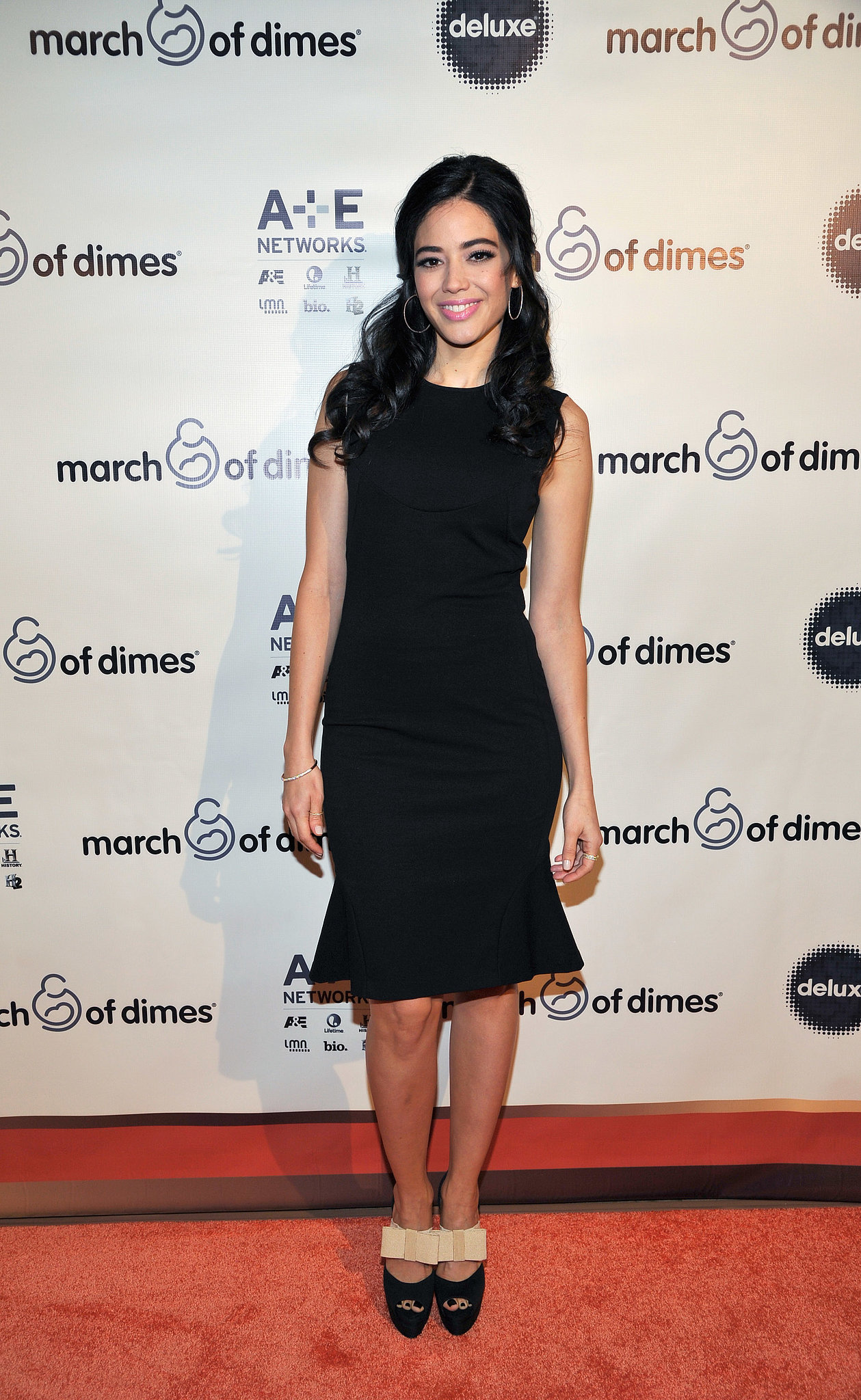 Edy Ganem attended the March of Dimes event.
