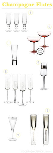Uncommon Champagne Flutes