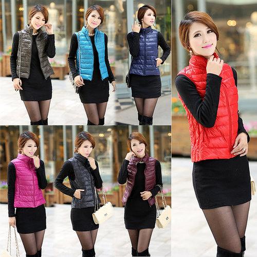 Discount HOT Trends Korean fashion plus size vest women winter down coat in women down parkas on sightface.com