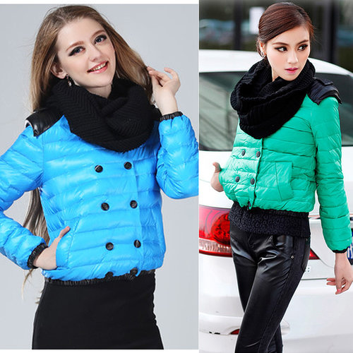 Discount NEW Korean Fashion women's down jackets winter casual outerwear Down & Parkas in women down parkas on sightface.com