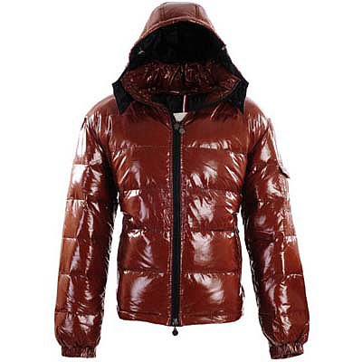 Moncler Mens Jackets Reddish Brown 8903