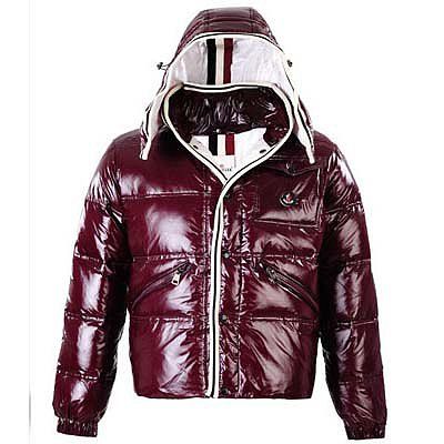 Moncler Mens Jackets Reddish Brown 8883