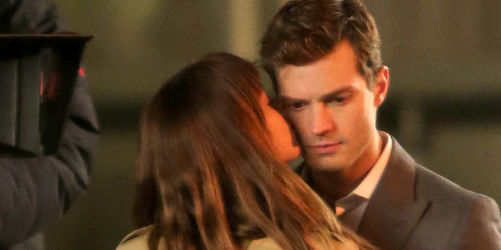 Things Get Steamy on the Fifty Shades of Grey Set