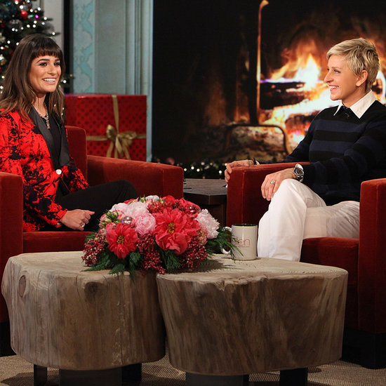 Lea Michele Talks About Cory Monteith on The Ellen Show