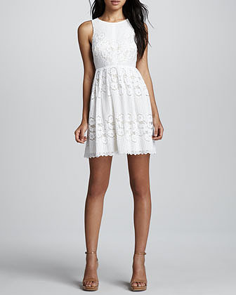 Free People Rocco Open-Back Lace Dress
