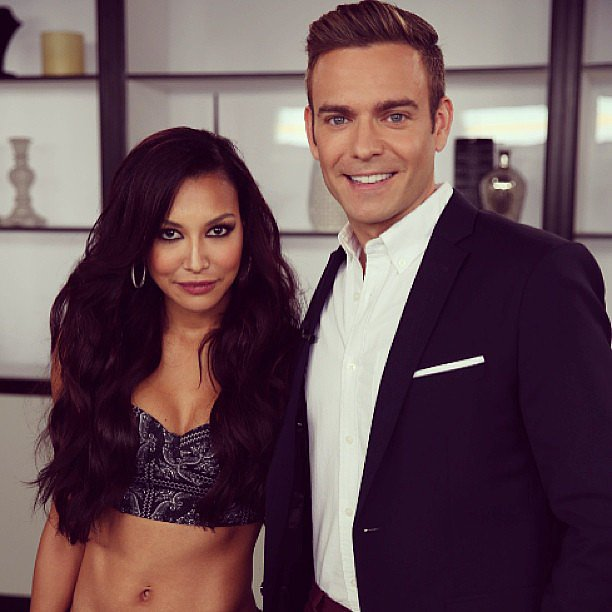 Naya Rivera('s glorious abs) stopped into our LA office!