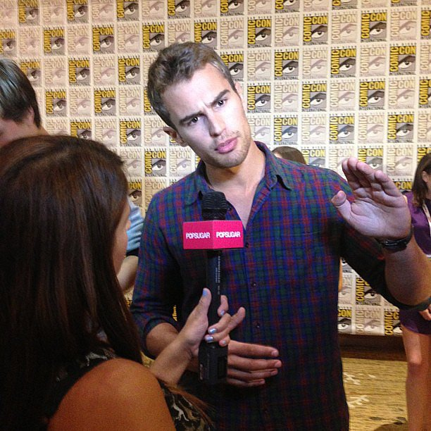Theo James was incredibly kind at Comic-Con. And he wasn't hard to look at either.
