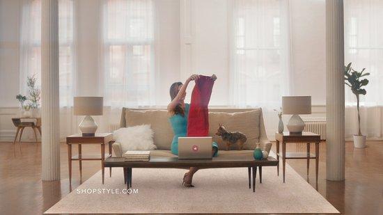 Miranda Kerr ShopStyle Commercial