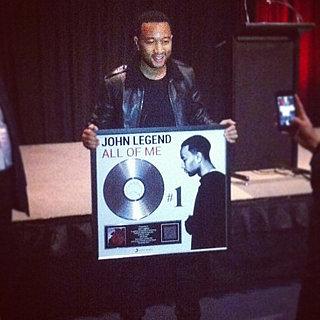 POPSUGAR Australia Instagram: John Legend, Alicia Keys