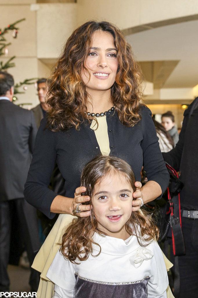 Salma Hayek and her da... Salma Hayek Daughter Down Syndrome