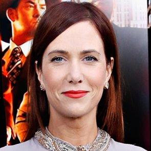 Kristen Wiig Red Lipstick at Anchorman 2 Premiere