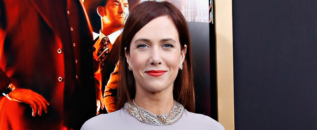 Kristen Wiig Proves That Yes, Redheads Can Wear Red Lipstick