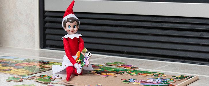 Celebs Love The Elf on the Shelf!