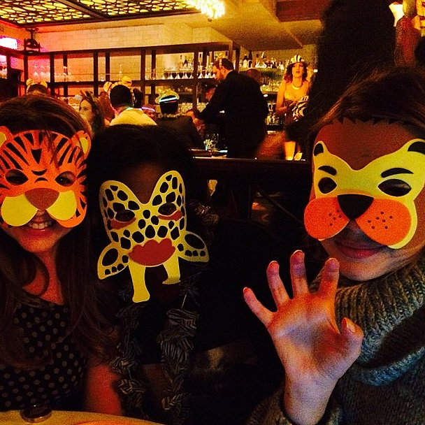 Things got a little wild at lunch for Ashley Benson and her friends. Source: Instagram user itsashbenzo